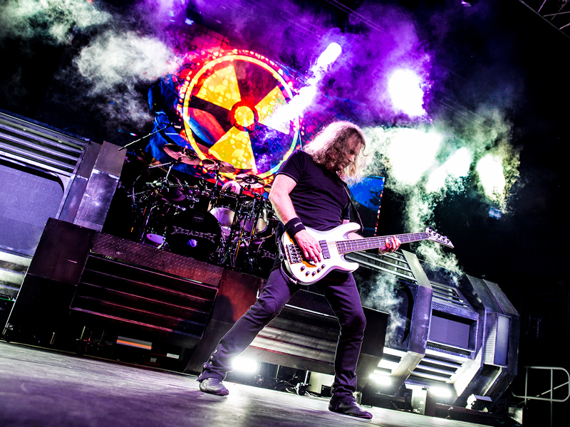 Megadeth & Lamb of God at DTE Energy Music Theatre