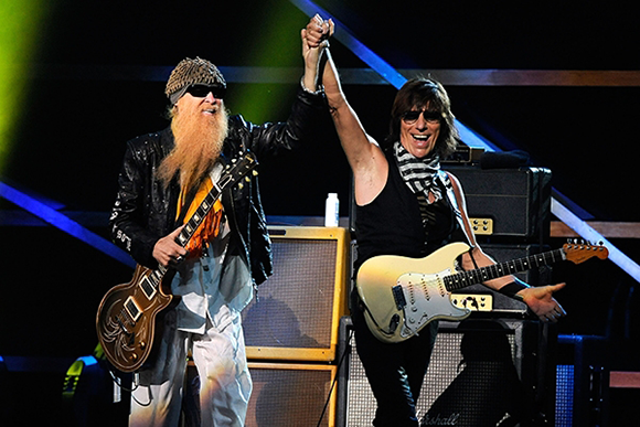 ZZ Top & Jeff Beck at DTE Energy Music Theatre