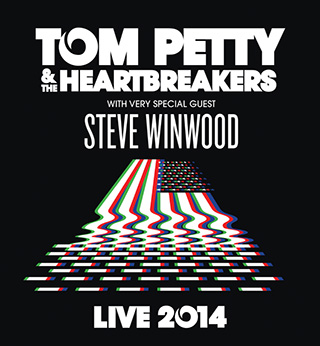 Tom Petty and The Heartbreakers & Steve Winwood at DTE Energy Music Theatre