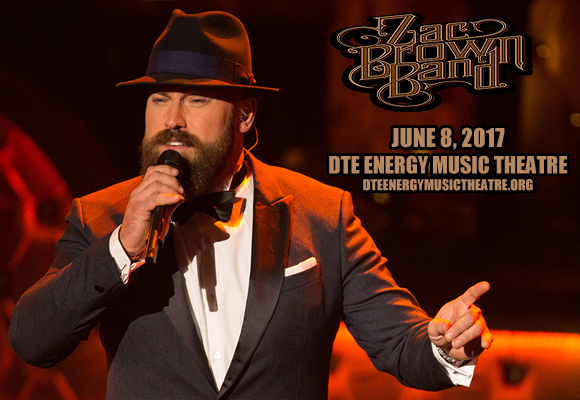Zac Brown Band at DTE Energy Music Theatre