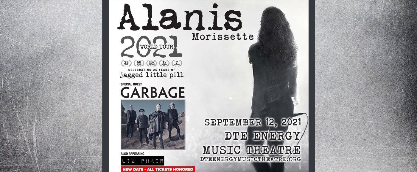 Alanis Morissette at DTE Energy Music Theatre