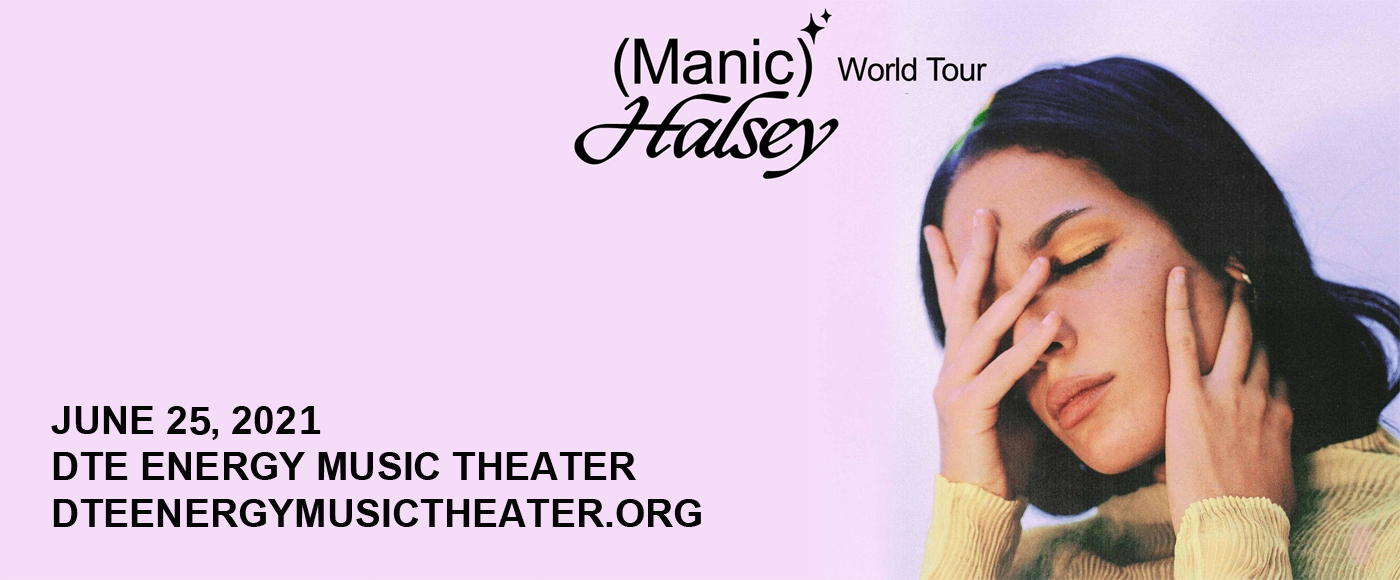 Halsey [CANCELLED] at DTE Energy Music Theatre