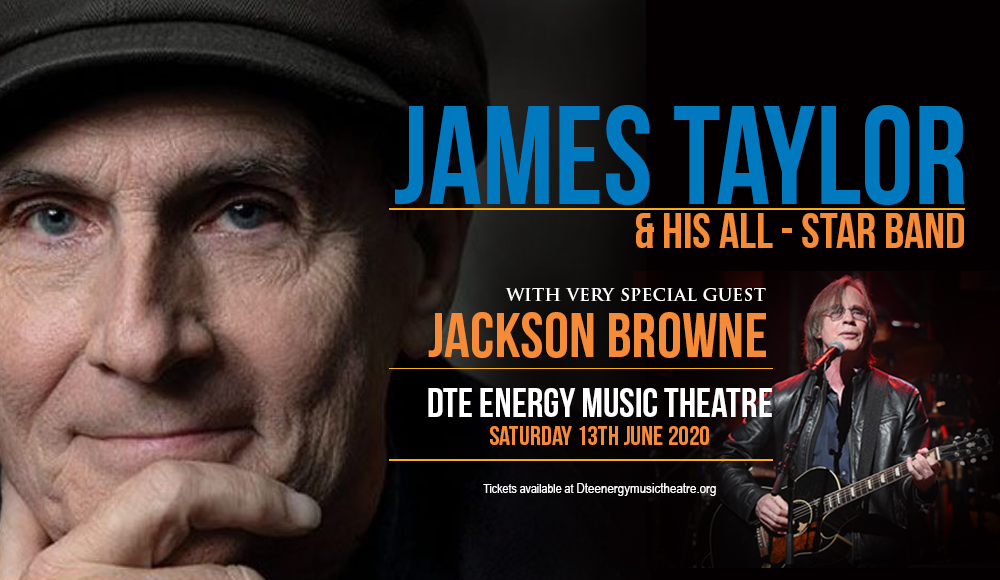 James Taylor & Jackson Browne at DTE Energy Music Theatre