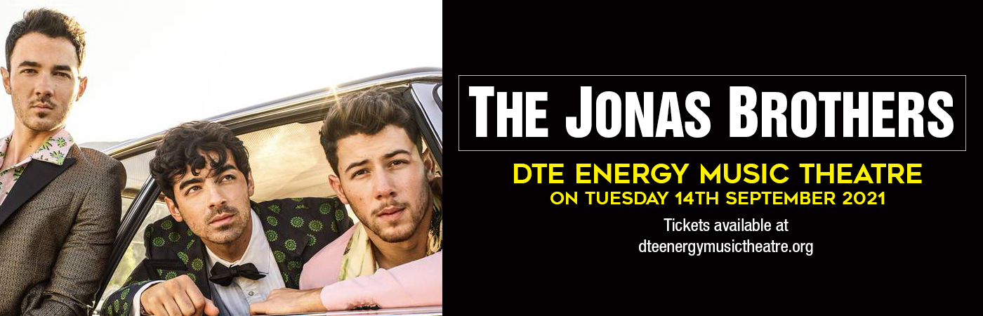 The Jonas Brothers at DTE Energy Music Theatre