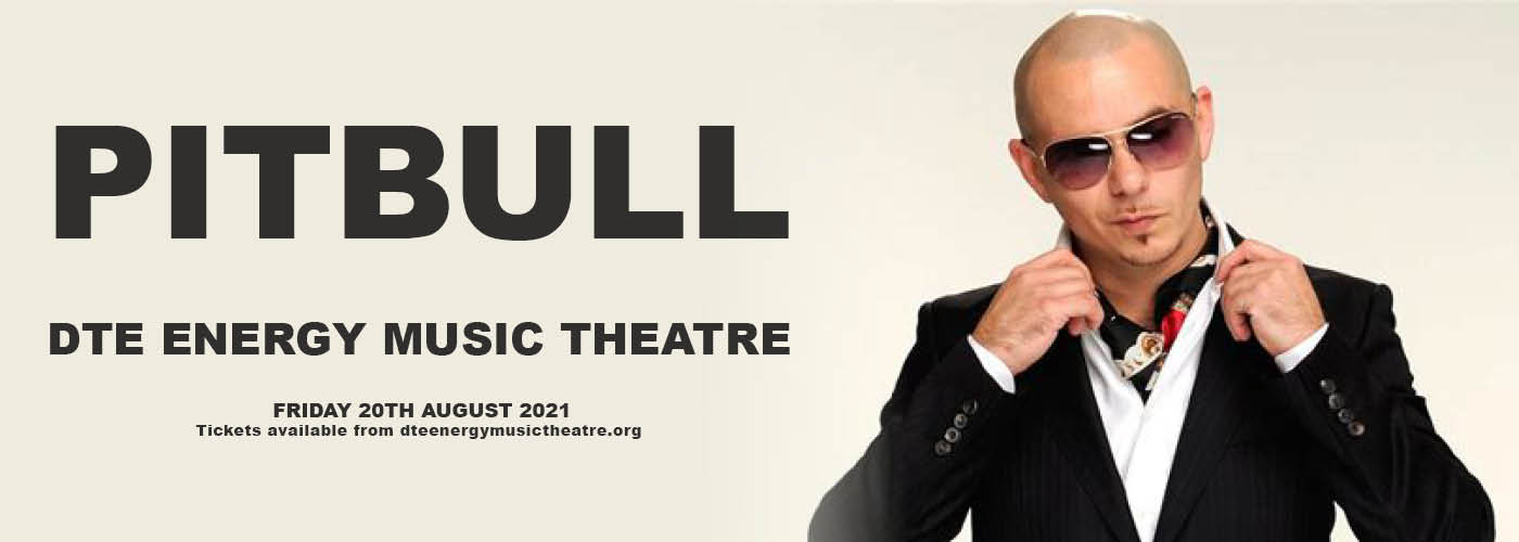 Pitbull at DTE Energy Music Theatre