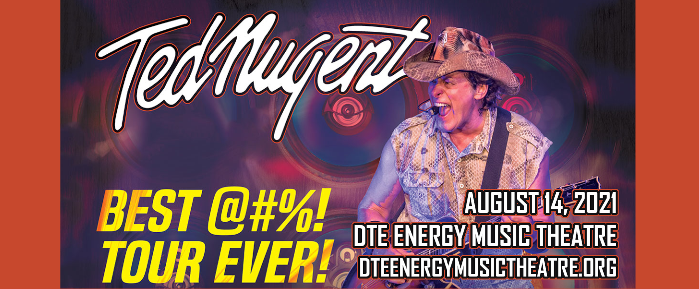 Ted Nugent [CANCELLED] at DTE Energy Music Theatre