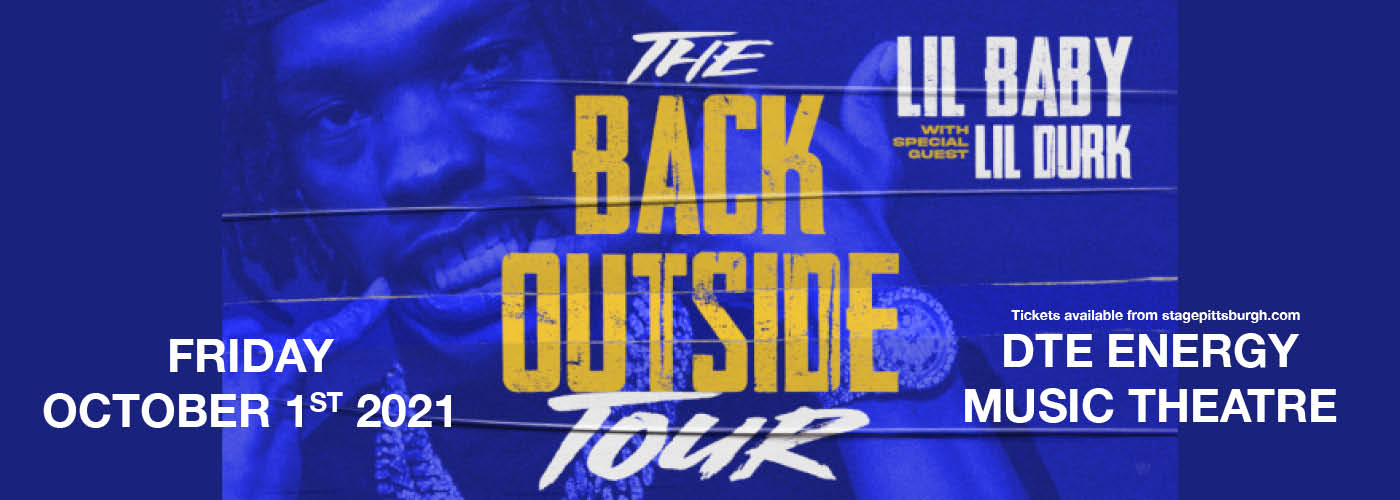 Lil Baby: The Back Outside Tour at DTE Energy Music Theatre